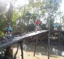 Ride for Hagar 2 Mekong Delta Bridge