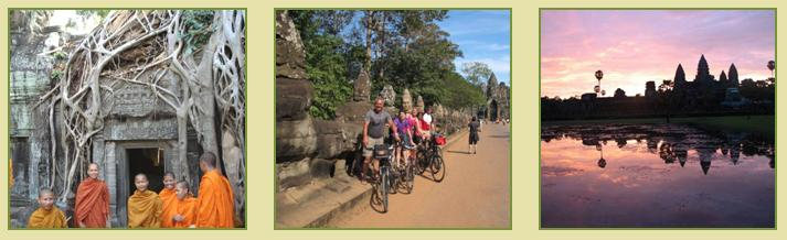 Angkor Wat Highlights Cycle Tour 2D1N