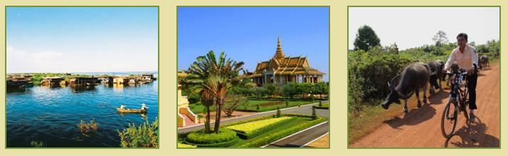 Charming Cambodia Cycle Tour 13D12N