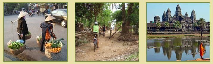 Hanoi to Siem Reap Cycle Tour 15D14N