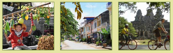 Saigon to Siem Reap Cycle Tour 13D12N