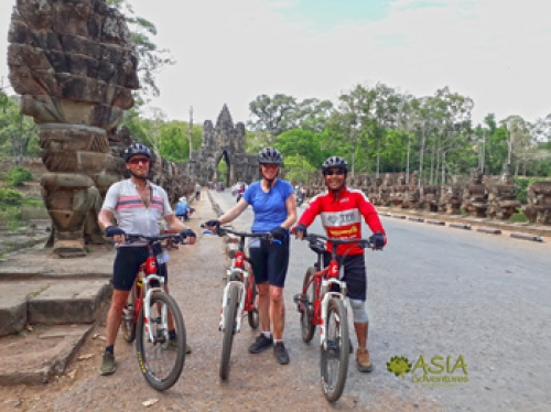 Angkor Wat Explorer Cycle Tour 5D