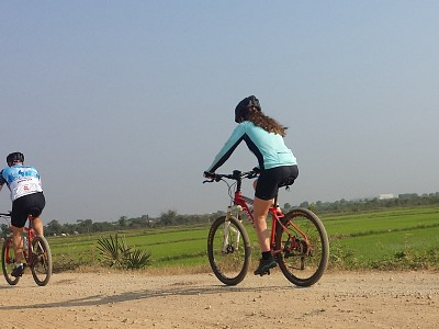 Cycling in takeo